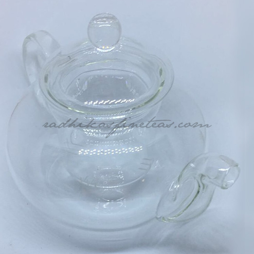 Glass Kettle, Victorian Round