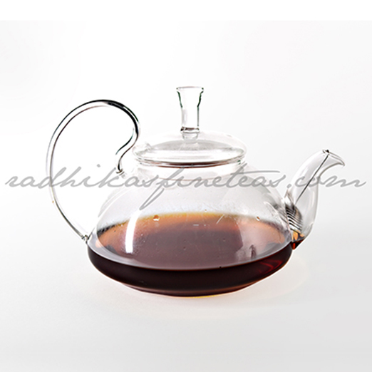 Glass Kettle Big, Style, Spring Infuser