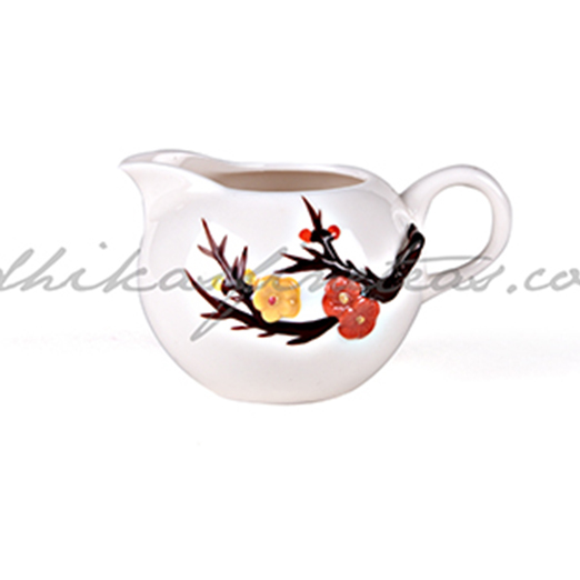 Serving Kettle, Style, Cream Floral
