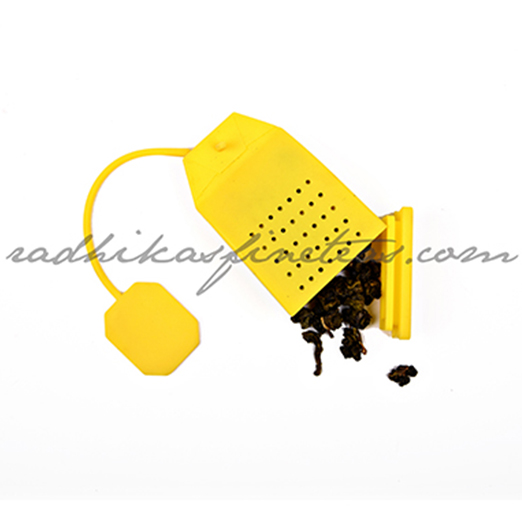 Silicon Infuser, Style, Tea Bag in Yellow