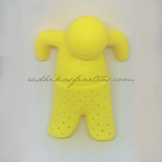 Yellow Silicon Infuser, Mr TeaMan