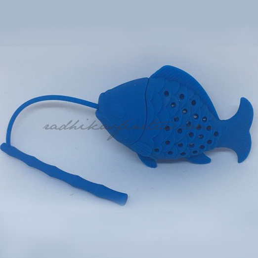 Silicon infuser, Fishy Fish in Blue