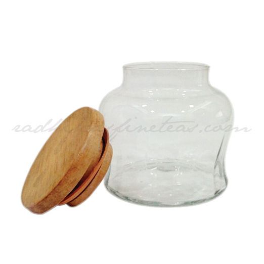 Storage Jar Small, Style, Wooden Lid