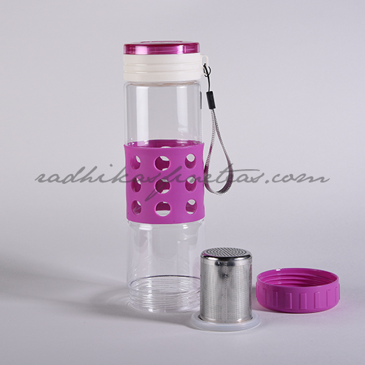Gym Bottle, Style, Steel Infuser Purple