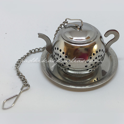 Steel Infuser, Mini Kettle with Mini Tray