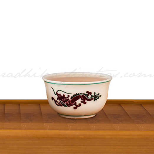 Tea Shots, Style, Dumpling Cup, Dragon