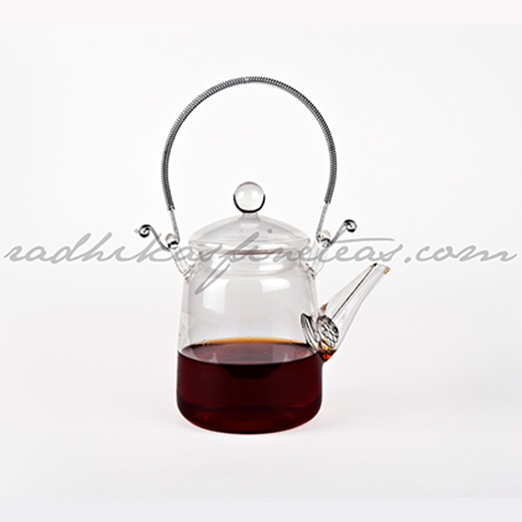 Glass Kettle Small, Style, Spring Infuser