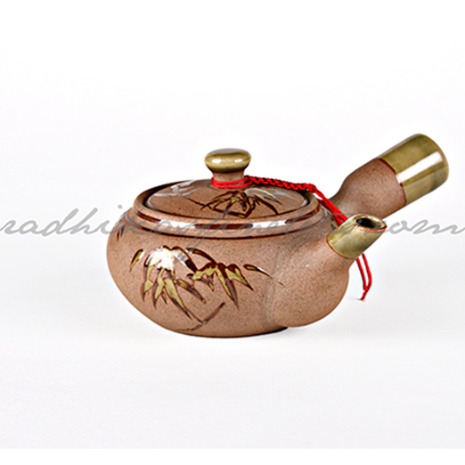 Yixing Kettle Small, Style, Gongfu Light Green Print