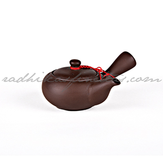 Small Yixing Kettle, Gongfu Style, Solid Brown