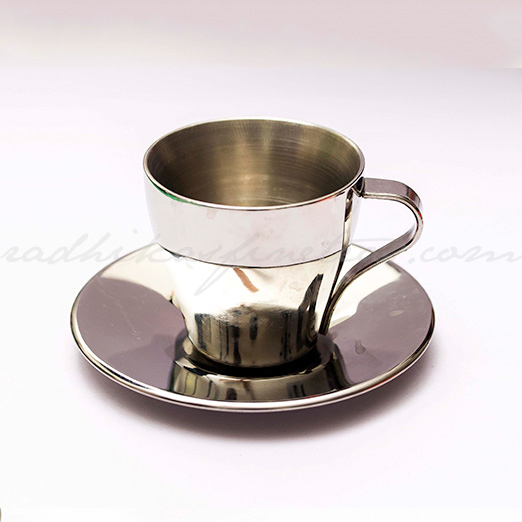 Cup-Saucer, Style, Steel