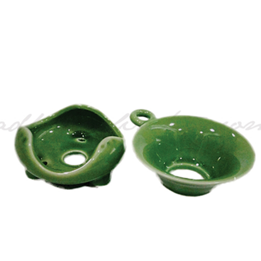 Porcelain Strainer, Style, Green set