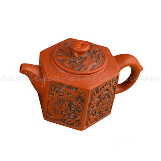 Yixing Kettle, Style, Dragon print