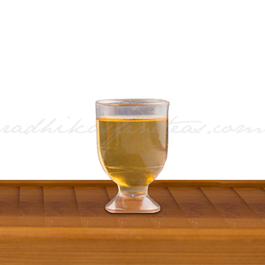 Champagne Disposable Tea Shot Glass