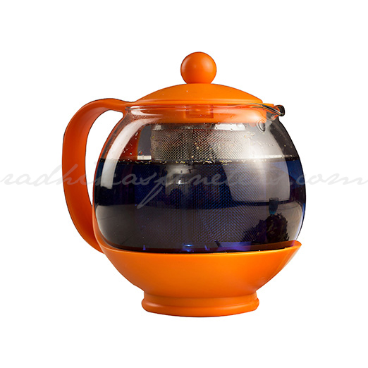 Plastic Kettle, Style, Orange